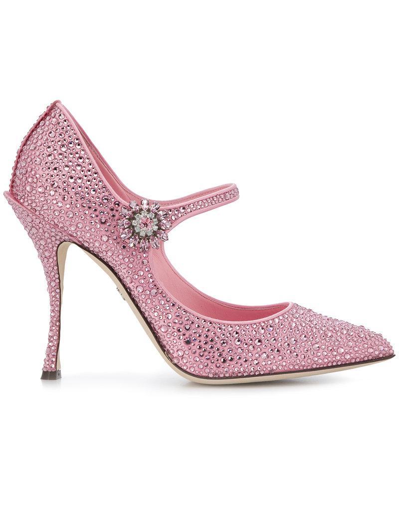 Lori Mary Jane pumps - Pink & Purple Dolce & Gabbana hWy1t