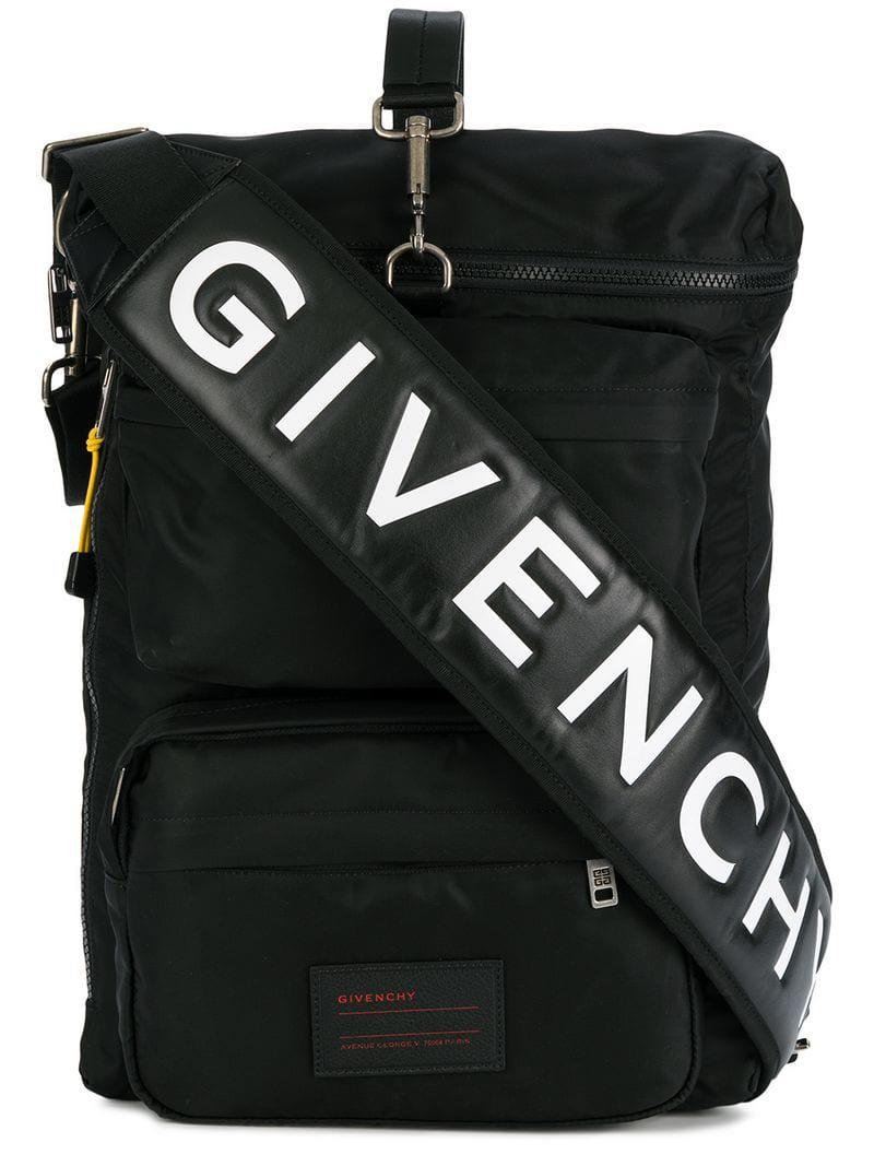 b2441f3b3f83 Givenchy - Black Multi-pocket Backpack for Men - Lyst. View fullscreen