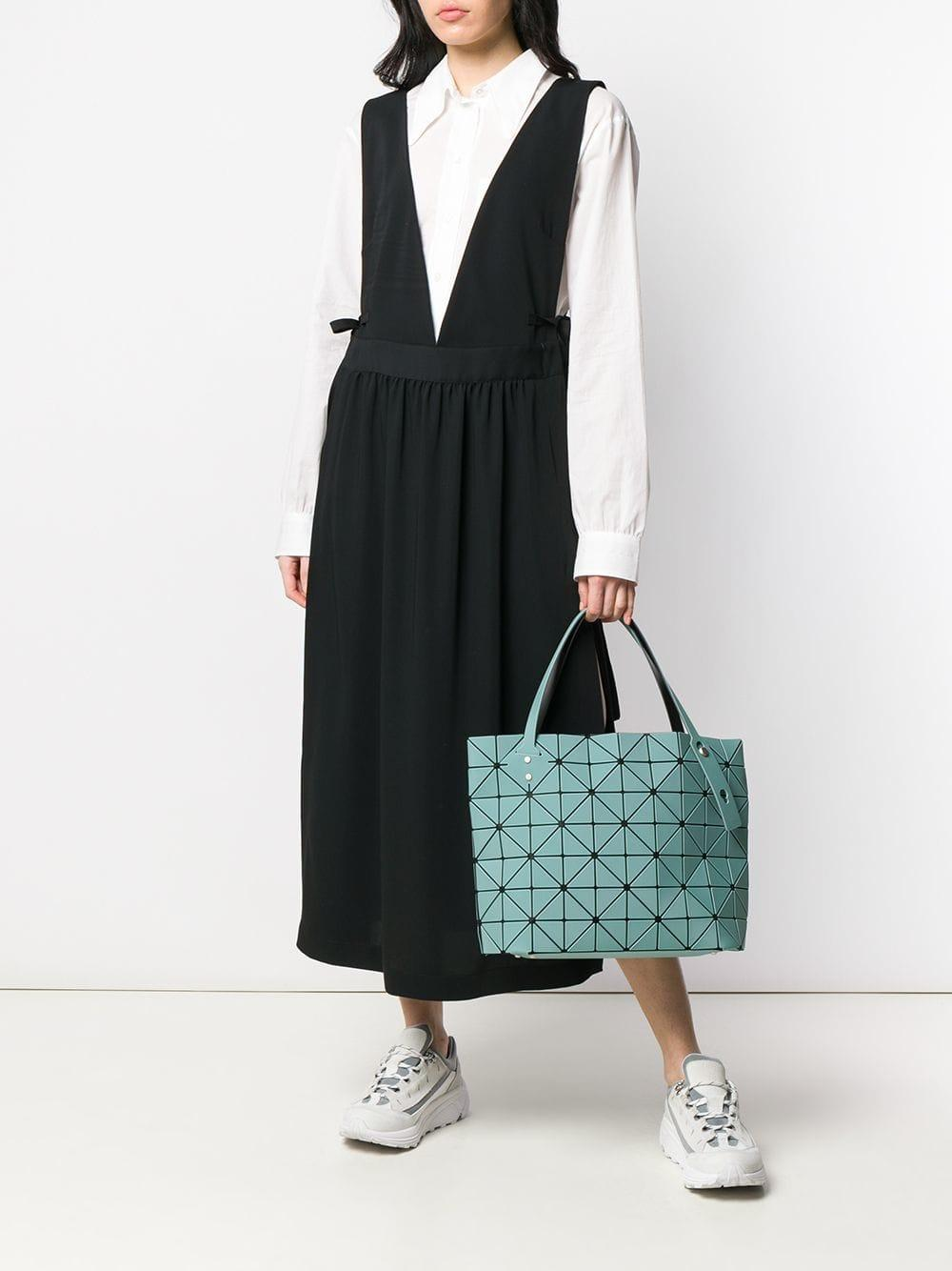 Bao Bao Issey Miyake - Green Rock Lucent Frost Tote Bag - Lyst. View  fullscreen 13041d9c2f812