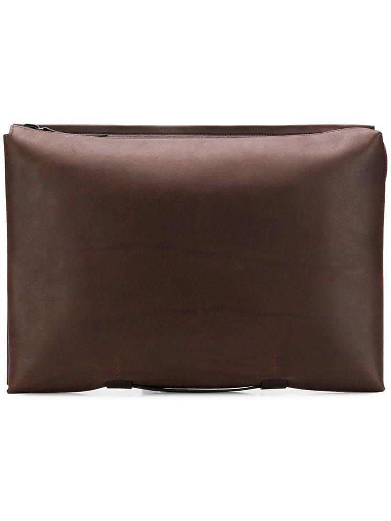 53daf0af9318 Troubadour - Brown Zipped Laptop Pouch Bag for Men - Lyst. View fullscreen