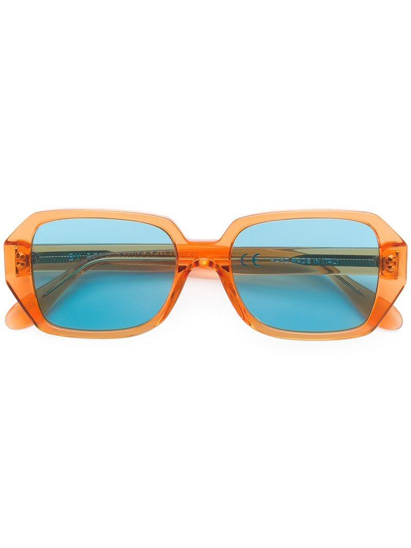 c9b48ed3e3 Gafas de sol cuadradas Retrosuperfuture de hombre de color Amarillo ...
