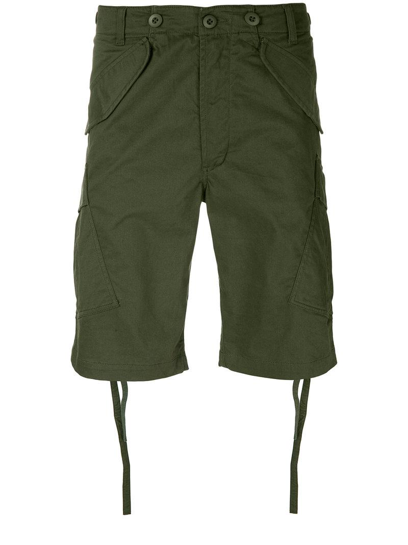 regular fit shorts - Green maharishi LMvLx9ud