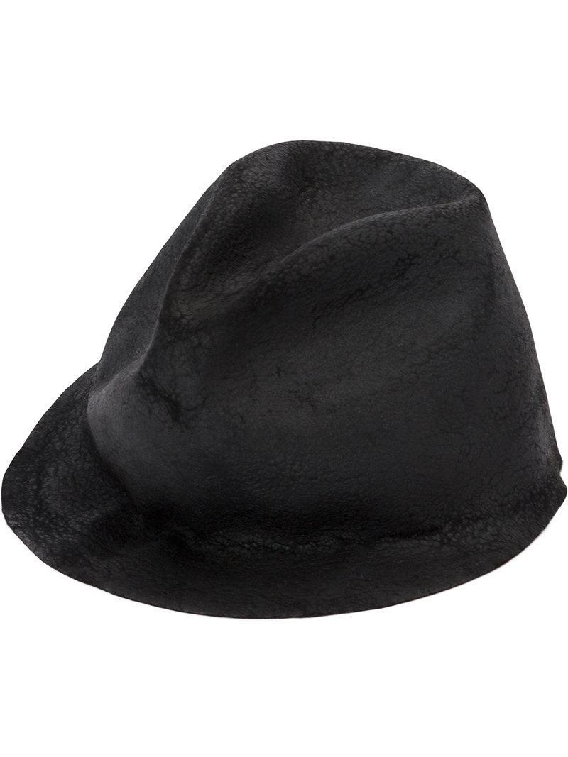4ac5420aa64 Horisaki Design   Handel Classic Hat in Black - Lyst