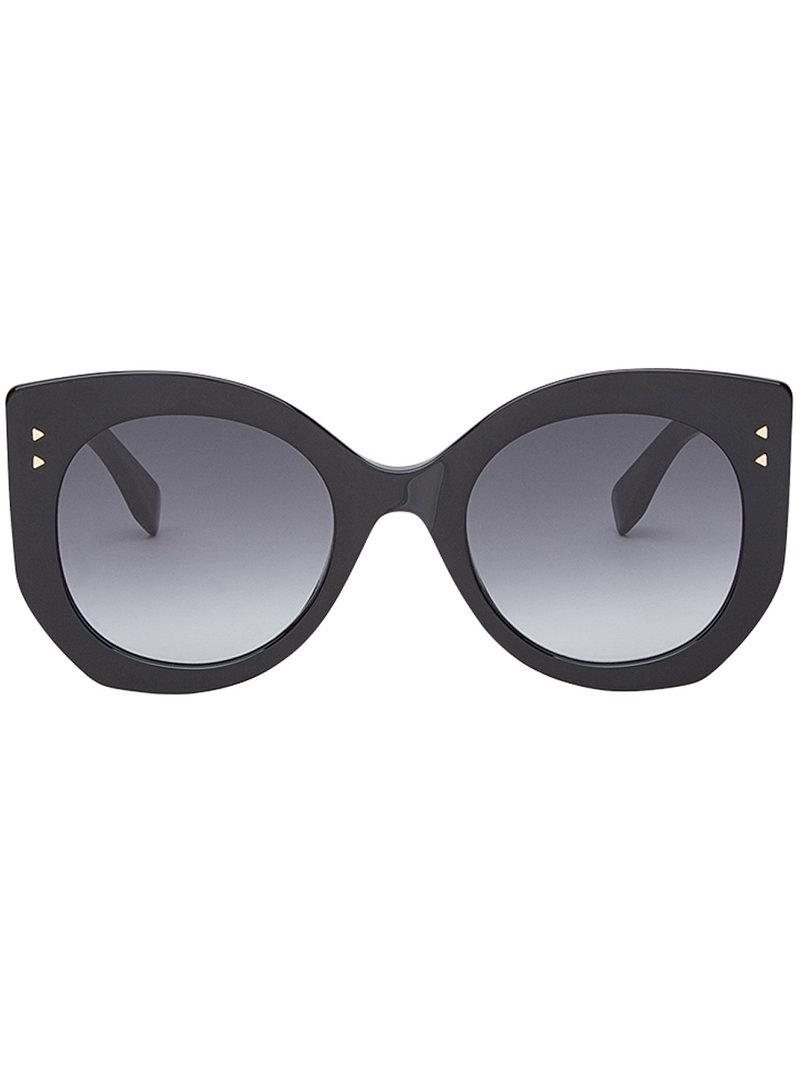 6d934ba6999 Lyst - Fendi Peekaboo Sunglasses in Black