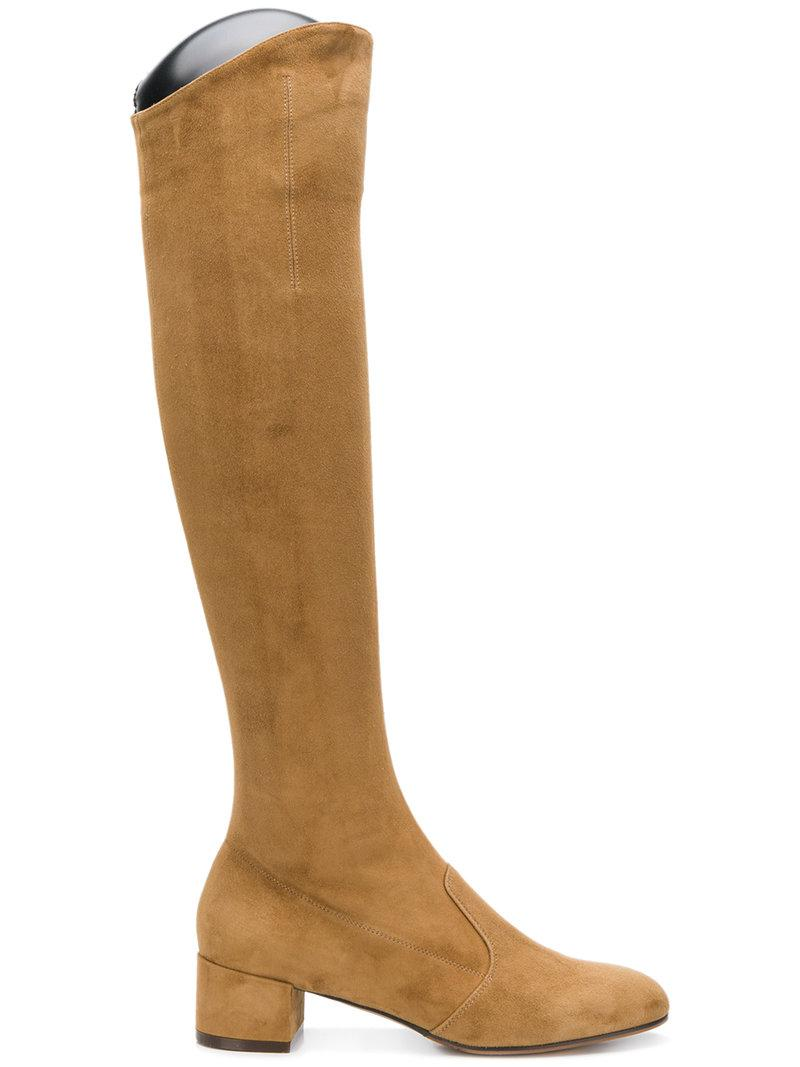 In Thigh Brown High Lyst Boots Chose L'autre SvxqFP