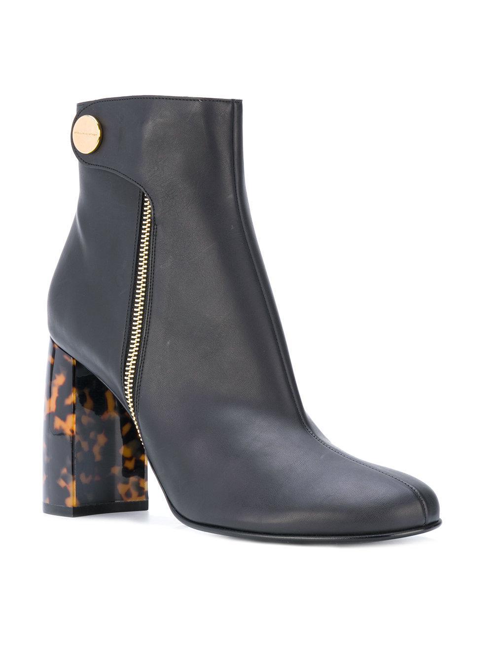 Stella McCartney High vamp ankle boots Cheap Largest Supplier UuVaMfOXM