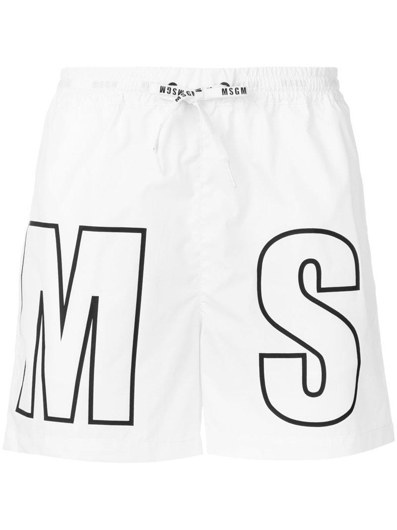 branded swimming shorts - Black Msgm Sale Eastbay 3d1z2SBV