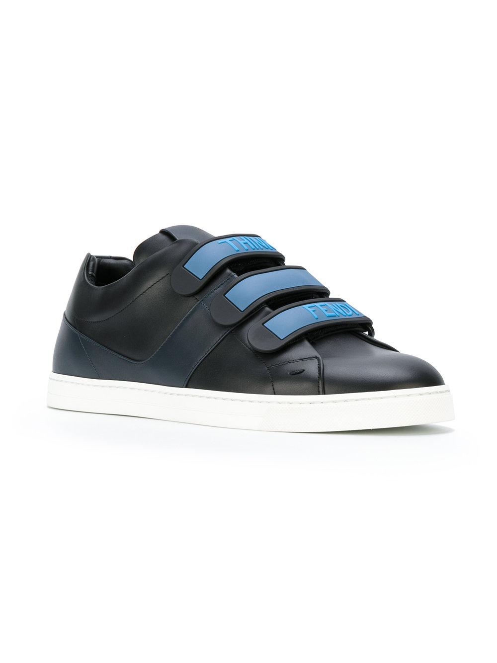 FendiCalf Leather Sneaker