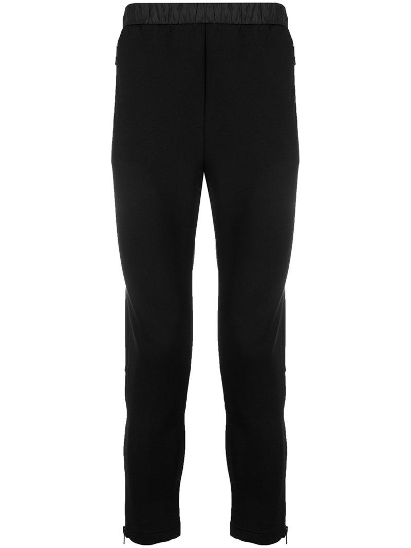 elasticated waist track pants - Black Prada 2018 Cheap Sale Cheap Good Selling Cheap Amazing Price Countdown Package Cheap Price Discount 2018 Unisex 0hN75h1