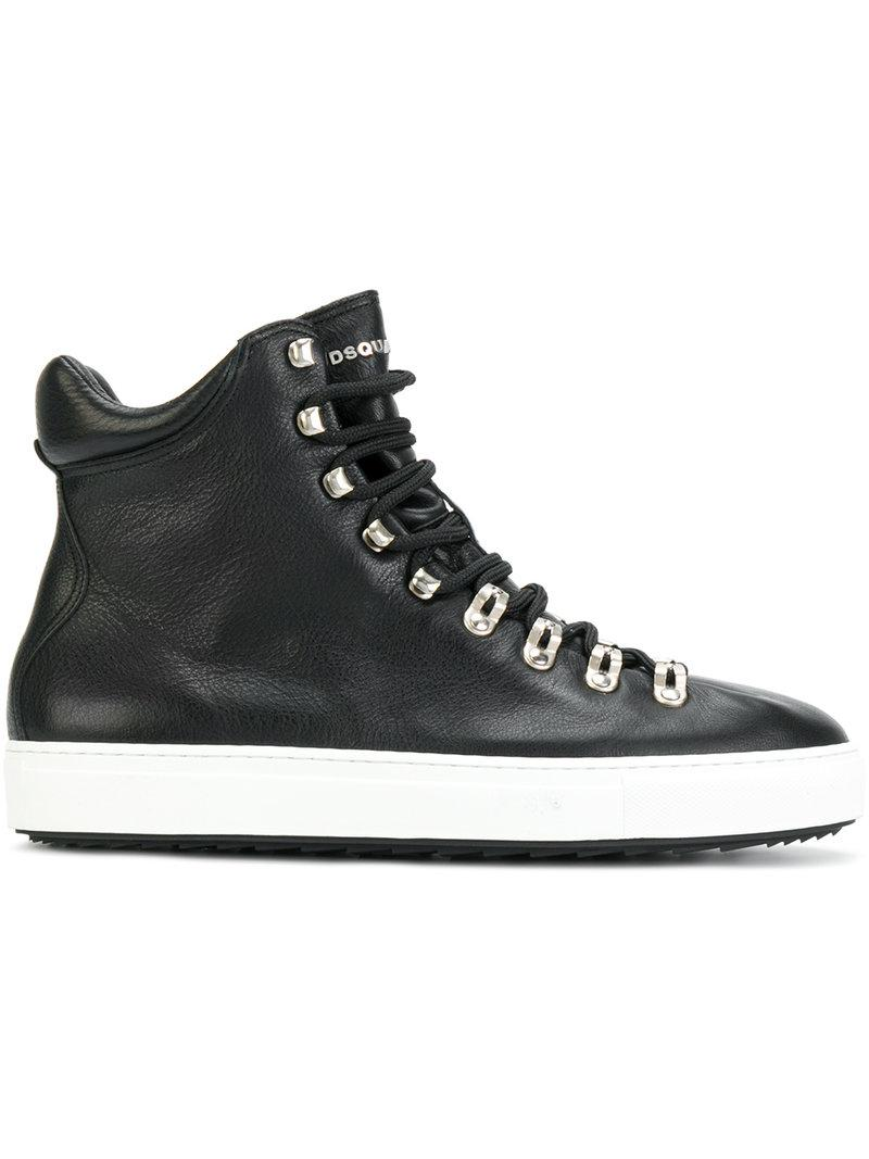 White Hightop Shoes Made In Canada