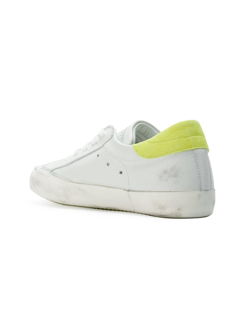 Paris lace-up sneakers - White Philippe Model Ntdcjxq0v