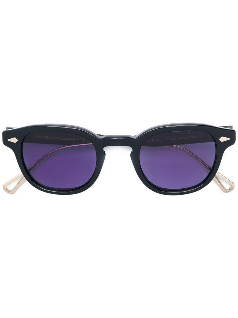 7c79619735 Moscot Lemtosh Sunglasses in Black - Lyst