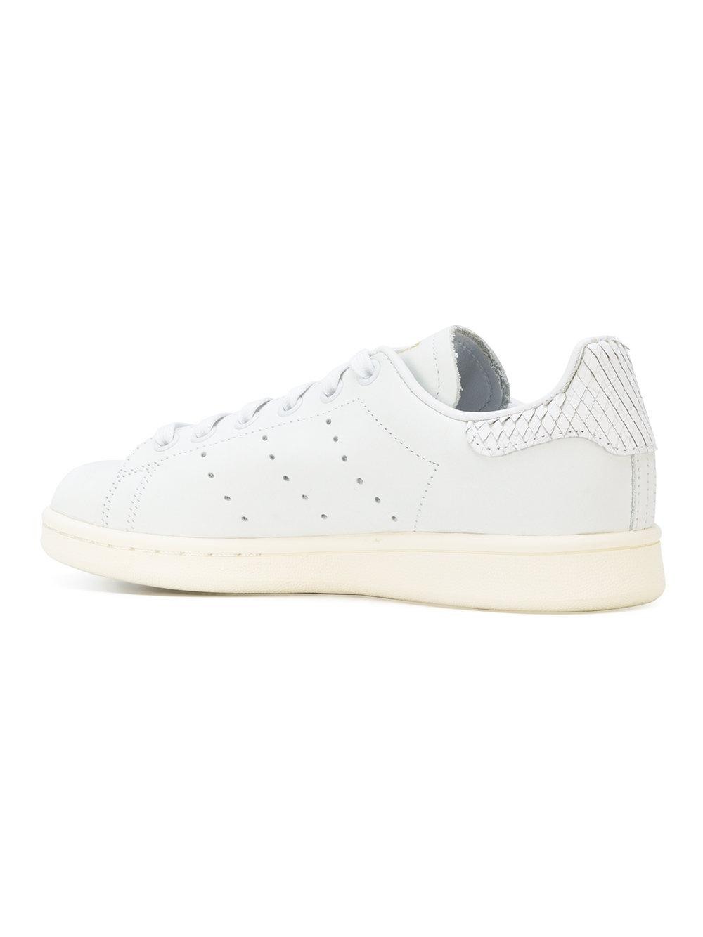 new style ac557 09bf1 germany adidas stan smith snakeskin white ef9cf 113f4