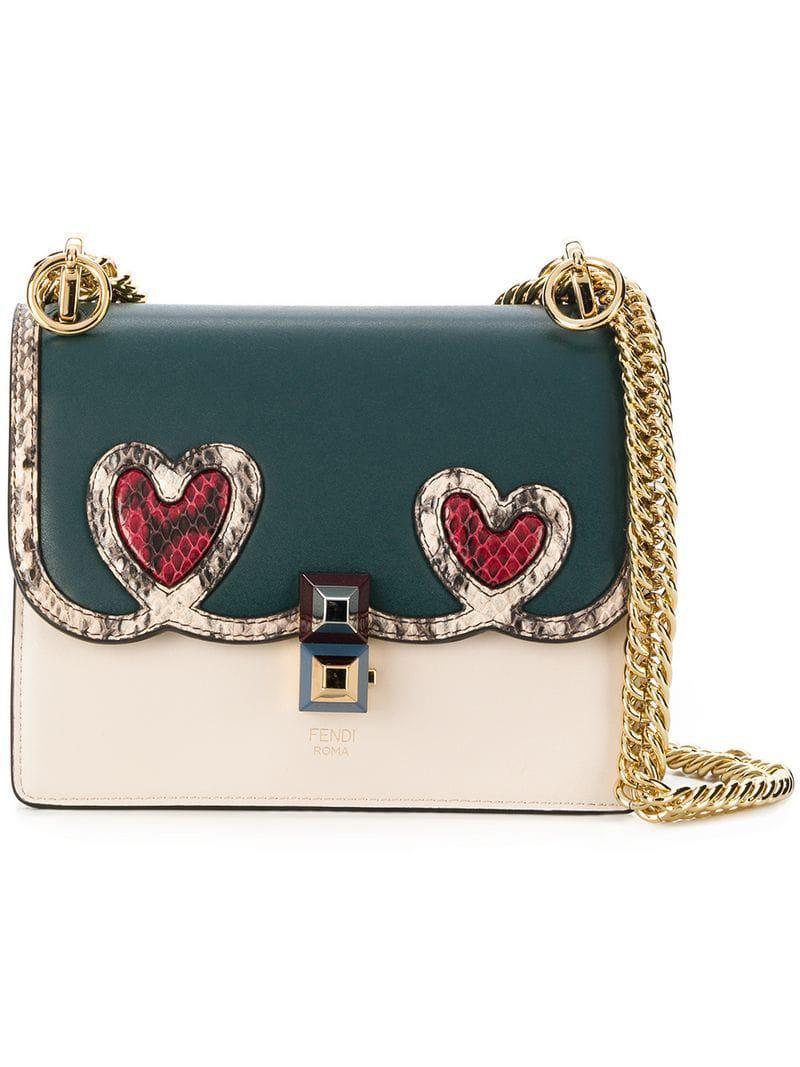 Lyst - Fendi Kan I Heart Shoulder Bag - Save 31% db80793308734