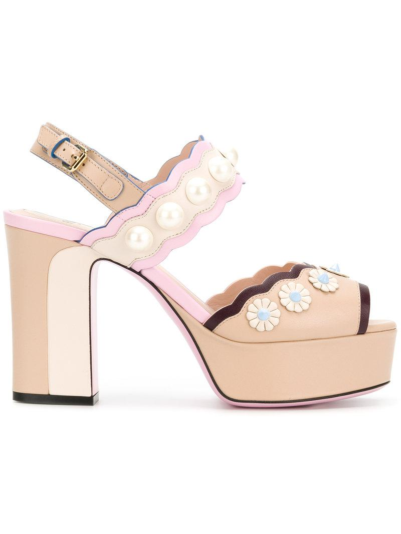 Fendi Scalloped open toe sandals Byt2dc0y