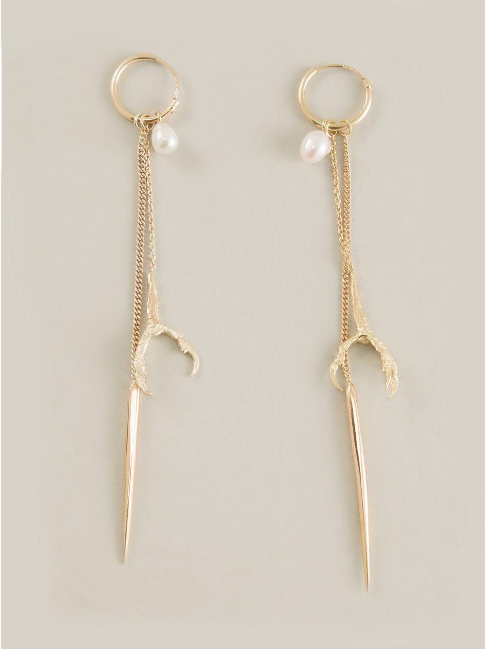 Wouters & Hendrix 18kt yellow gold Pearl earrings - Metallic 3BlDK
