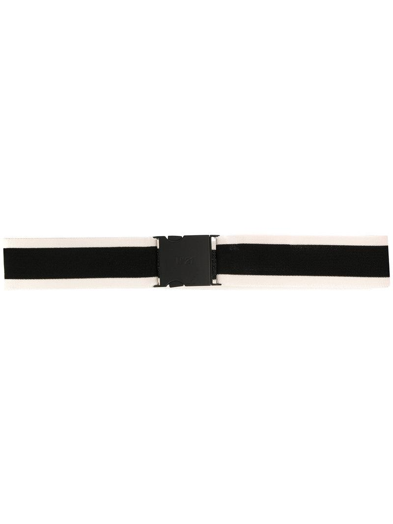 woven belt - Black N?21 FbF5ab