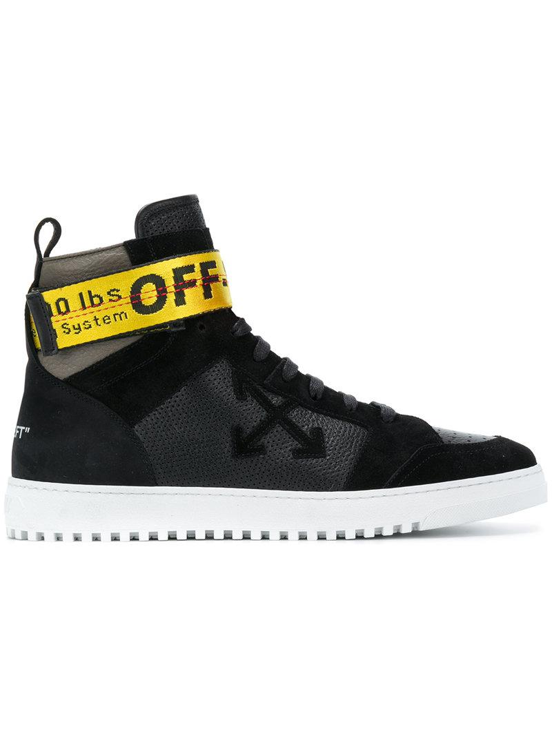 Off White Spring Summer 2017 Women S Collection: Off-White C/O Virgil Abloh Industrial Strap High