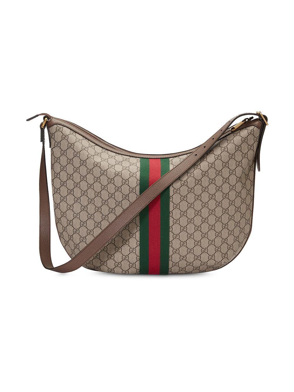 36e6e03a007 Gucci - Brown Ophidia GG Shoulder Bag for Men - Lyst. View fullscreen