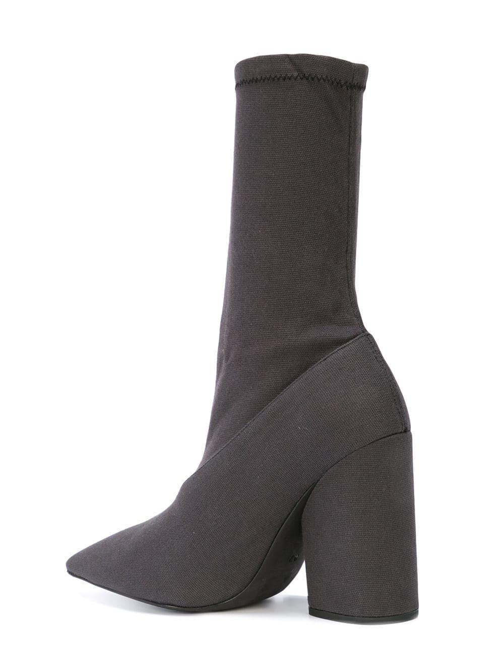 5e0be13a9 Lyst - Yeezy Season 7 Sock Boots in Black