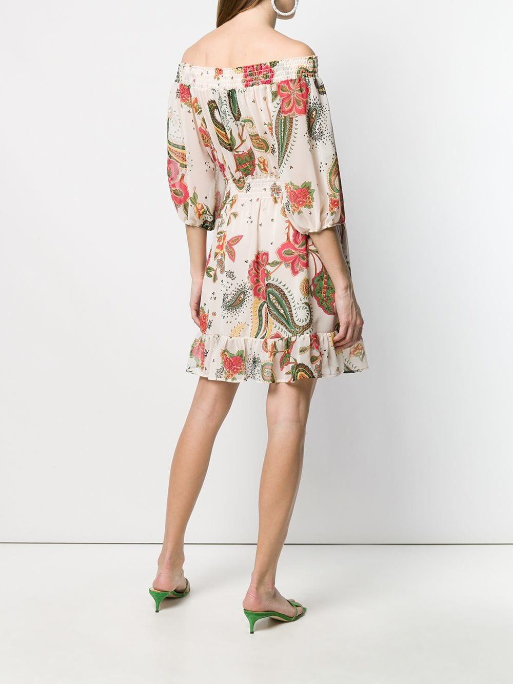 2139e5e689 Liu Jo - Multicolor Fitted Dress - Lyst. View fullscreen