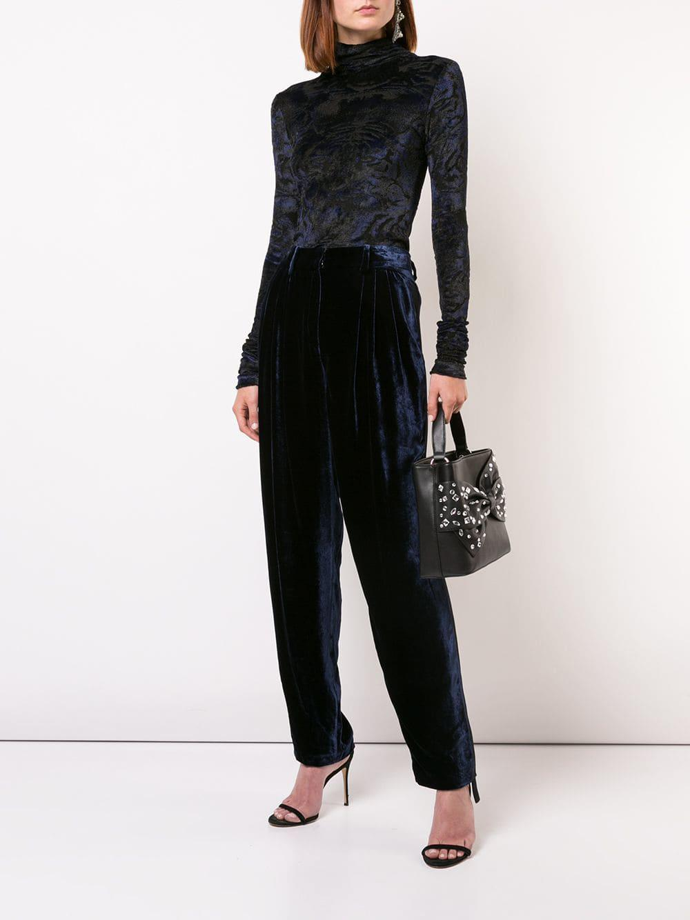 Black Tote Bag Bow Siriano Embellished In Lyst Christian vm7yYfb6gI