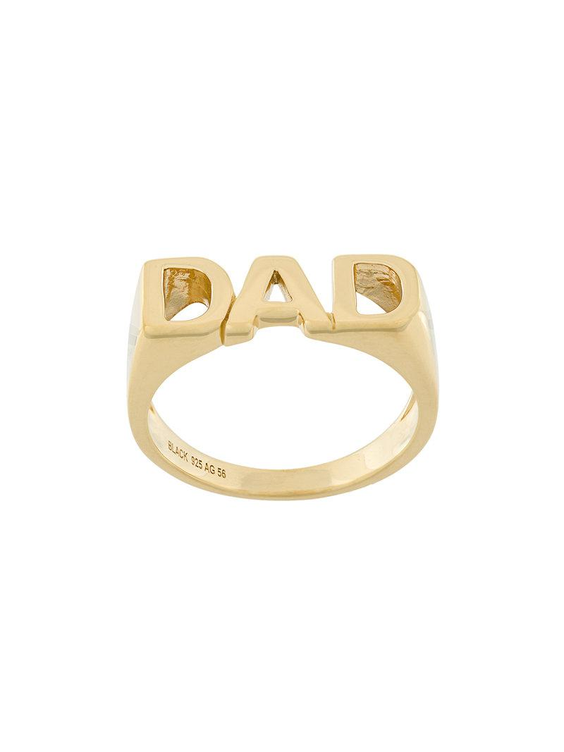 Maria Black Dad ring - Metallic 5hzIBnywH