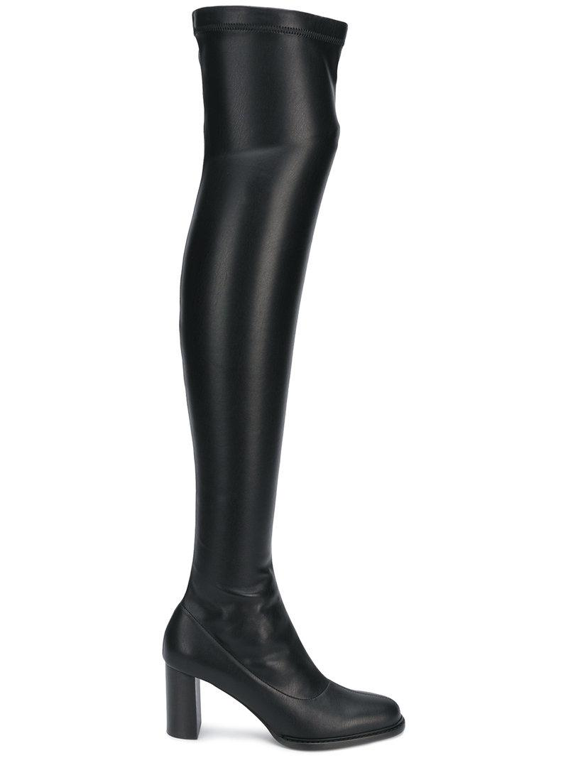 d8f7f07d9bd Lyst - Stella McCartney Over-the-knee Boots in Black