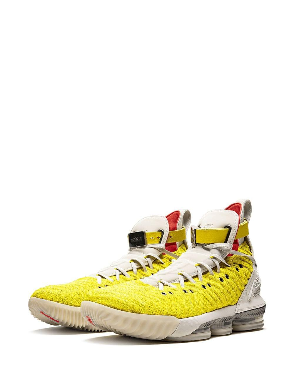 d5615fd23b3a2 Nike Lebron 16 Sneakers in Yellow for Men - Lyst