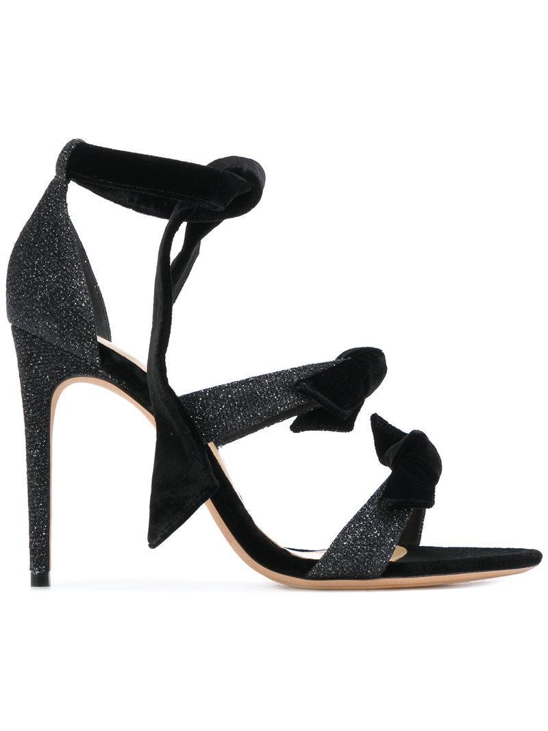 Alexandre Birman Clarita printed ankle-tie sandals - White farfetch bianco Falso W4urj
