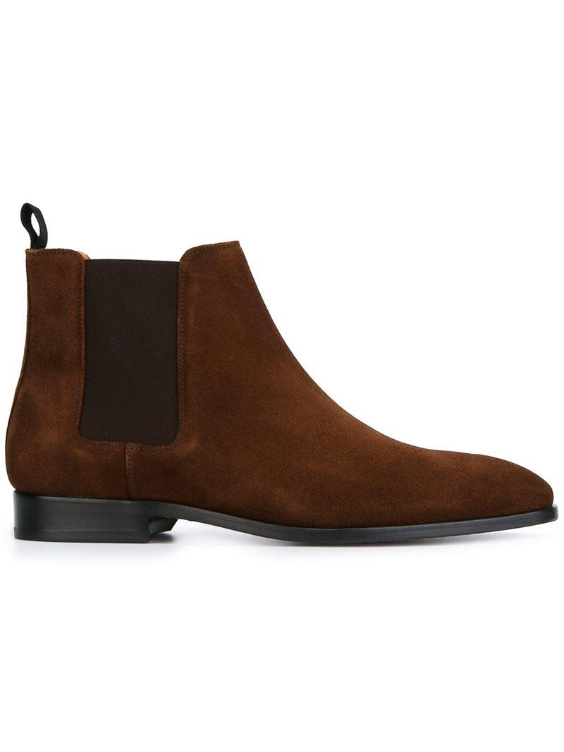 PS by Paul Smith GERALD - Classic ankle boots - choc GgML2OSHs2