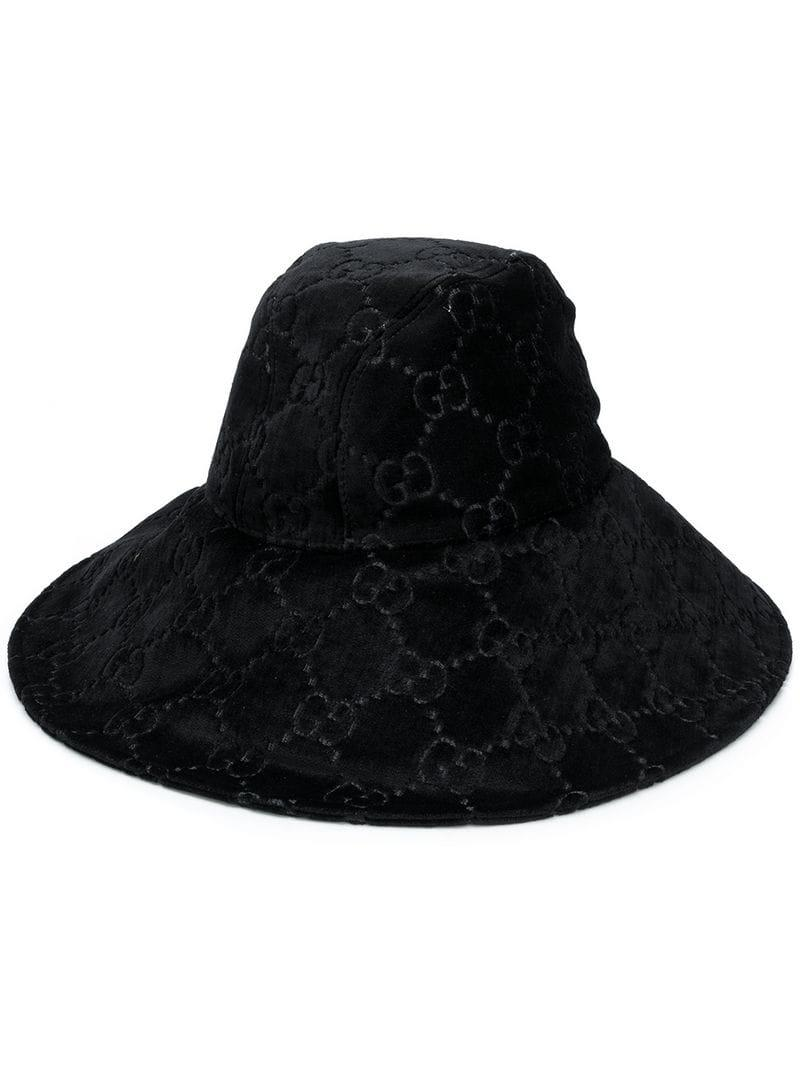 073cfe158bf Lyst - Gucci Ghost Hat in Black - Save 33%