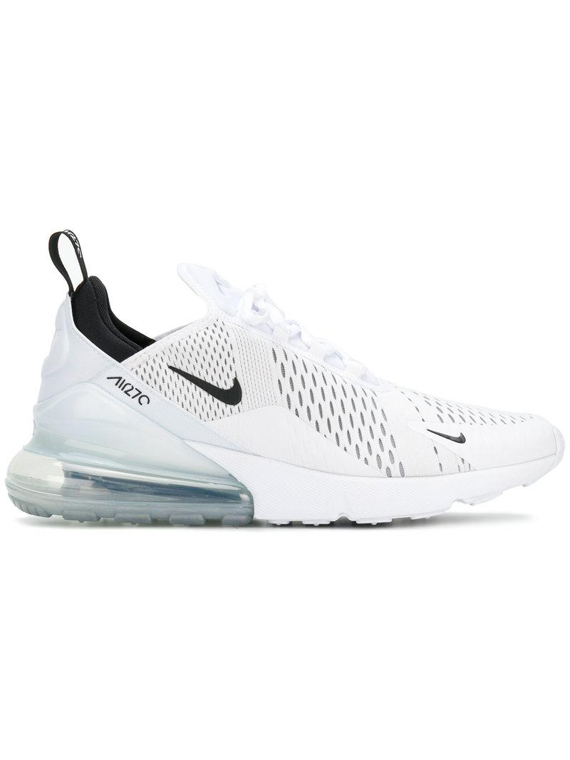 new concept a7af8 aec0e Nike. Men s White Air Max 270 Sneakers