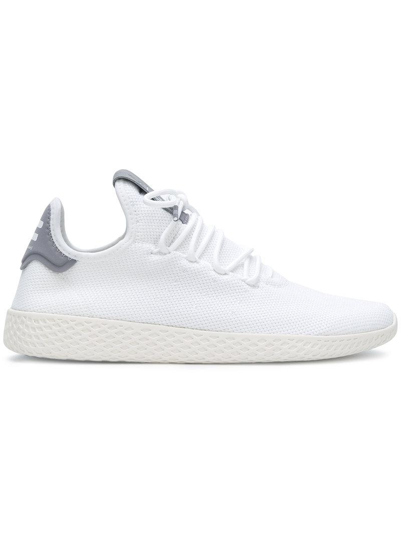 huge selection of 83ddf ab6e5 Adidas Originals - White Tennis Hu Sneakers for Men - Lyst