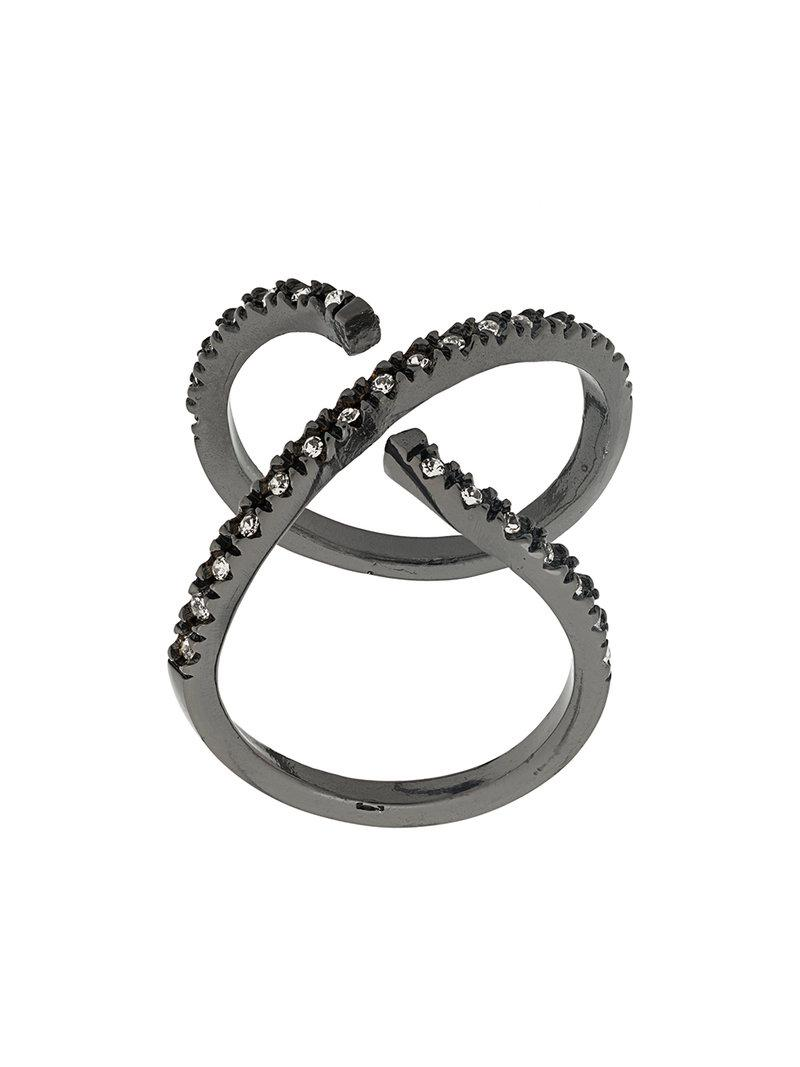 Federica Tosi Cross ring - Metallic W6425h