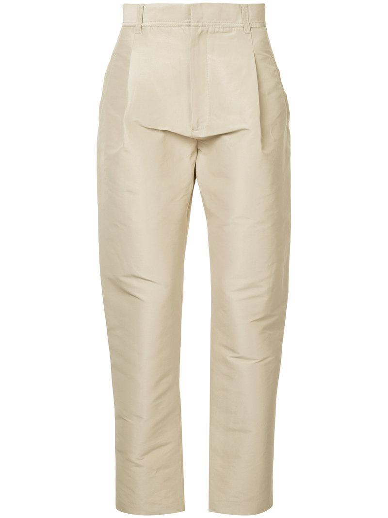 Cooler Future tailored trousers - Brown Ex Infinitas Dw76rReI