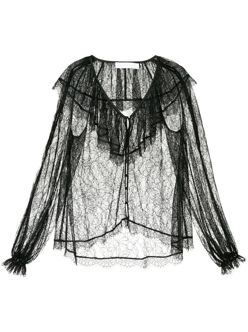 Folklore blouse - Black Alice McCall Websites Cheap Price ckCfAgp
