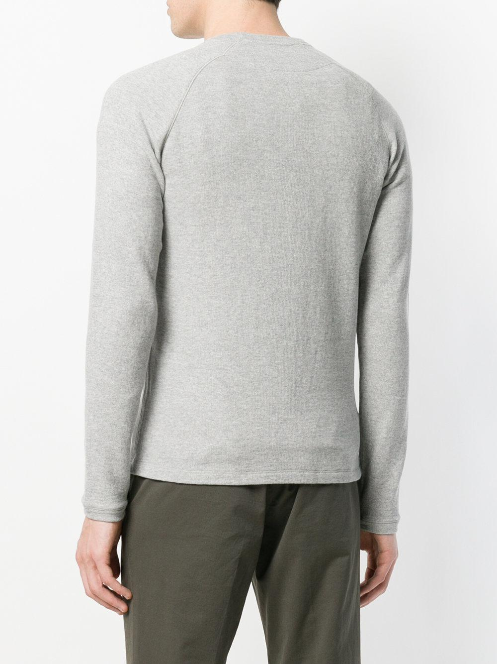 marl effect sweatshirt - Grey Aspesi Buy Cheap Shop For lIPjhT