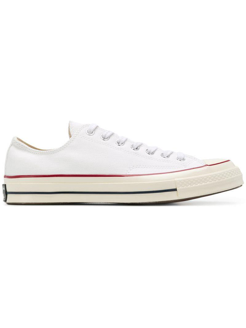 Converse Chuck Taylor Allstar Trainers in White for Men - Lyst 58949e34b