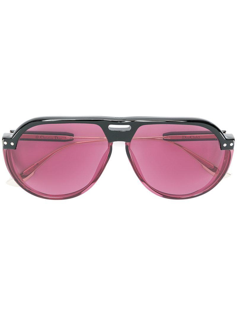 bbfffea42044 Lyst - Lunettes de soleil Dior Club 3 Dior en coloris Noir