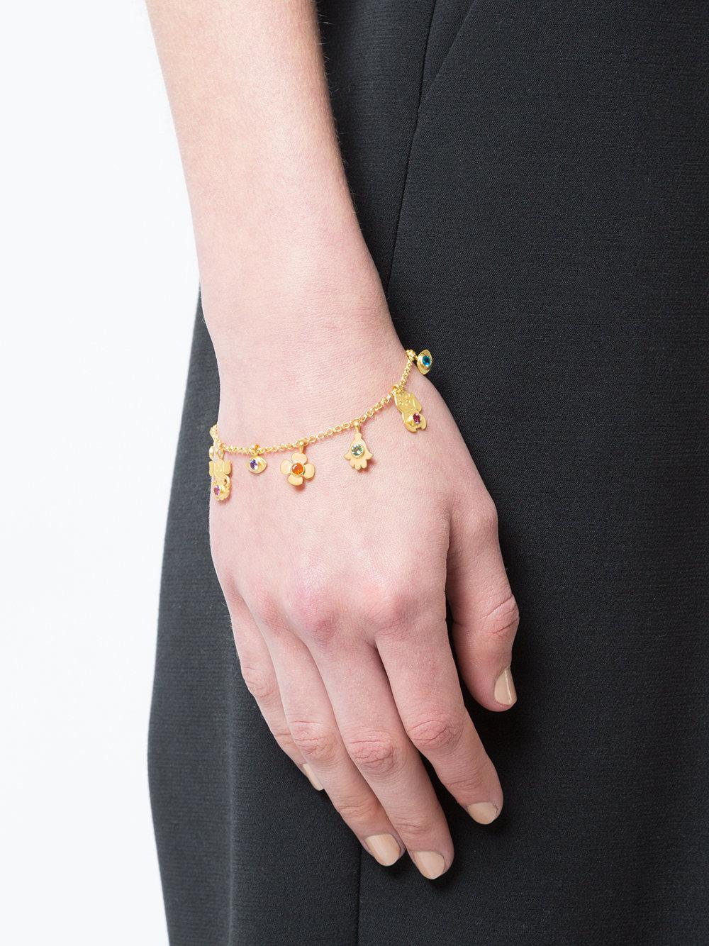 Marie Héléne de Taillac Capitol xx Collection charm bracelet - Metallic gbXgSkwiea