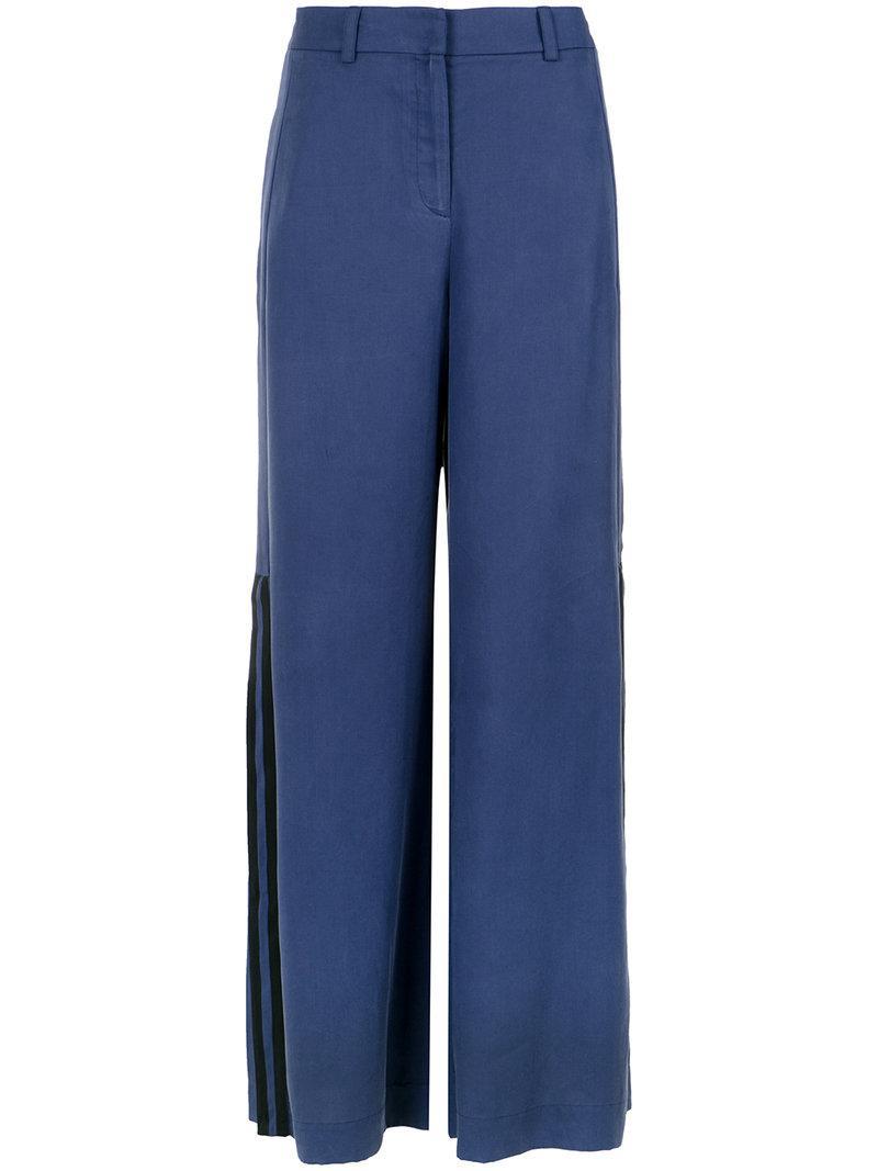 palazzo trousers - Blue Mara Mac qFKQABN