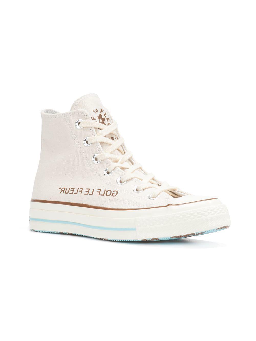 Lyst Converse Golf Le Fleur Chuck 70 High Top Sneakers In White