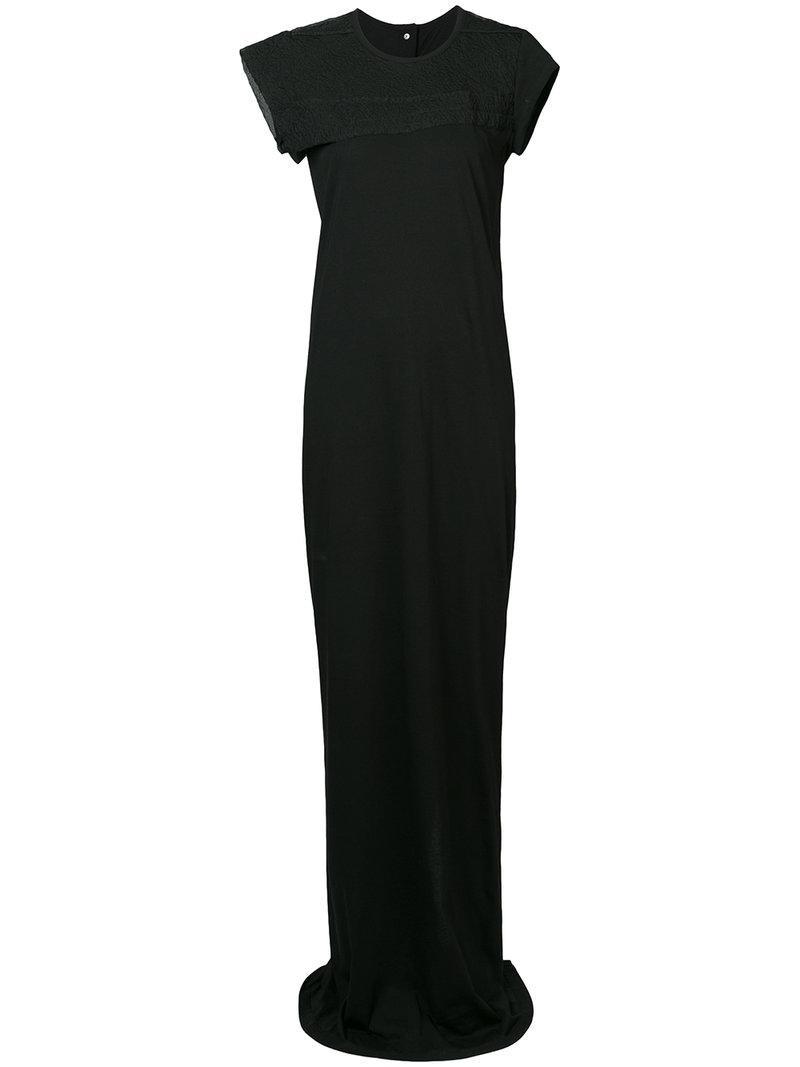 1f3fd85a30697 Lyst - Rick Owens Scaffolding Dress in Black