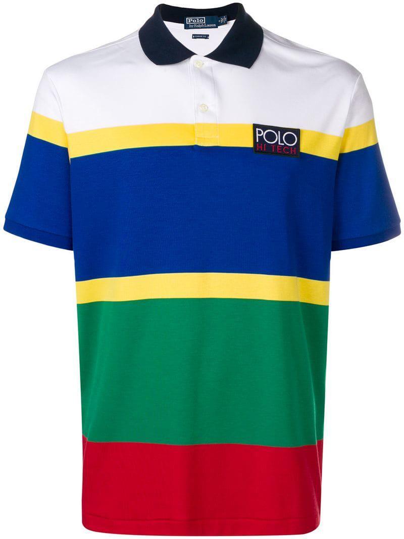 3d150838 Polo Ralph Lauren Shortsleeved Polo Shirt in White for Men - Lyst