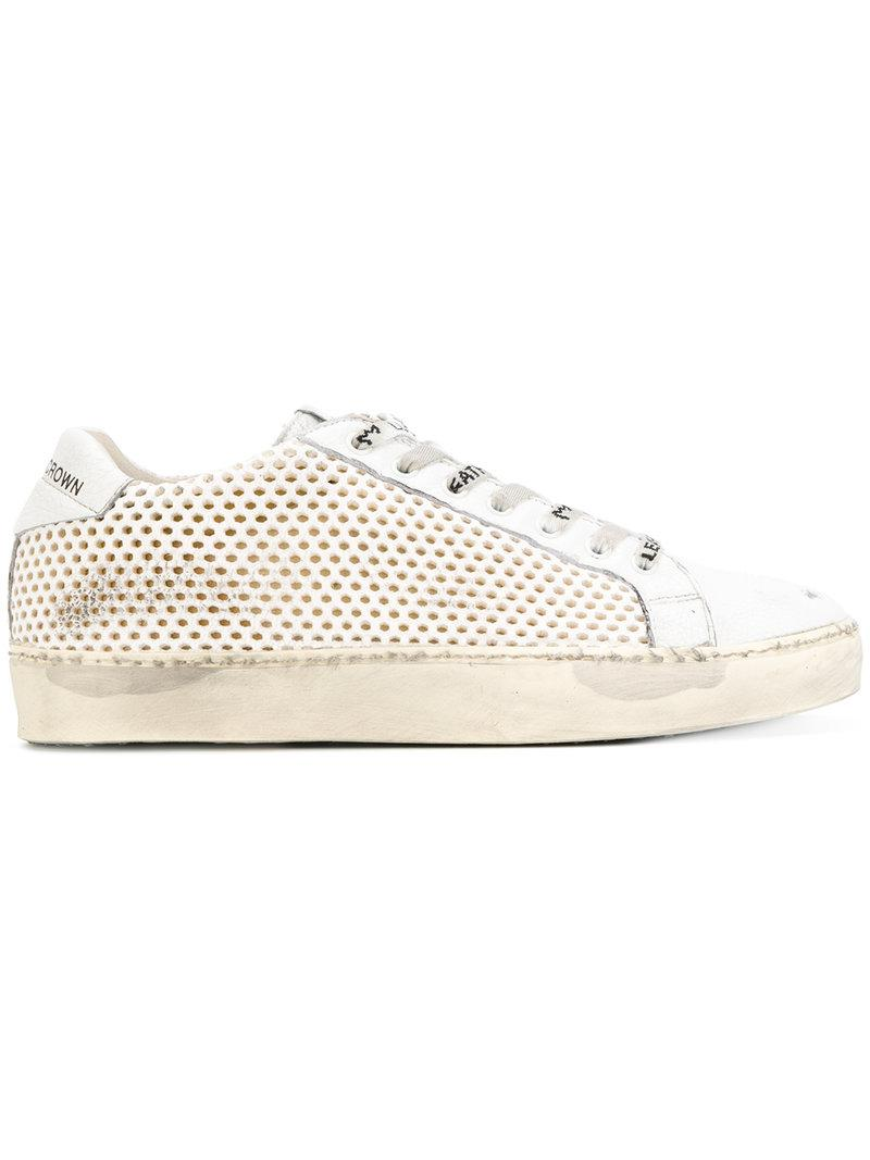 Leather CrownW_Iconic-017 sneakers Acheter En Vente En Ligne V2pVw0v8