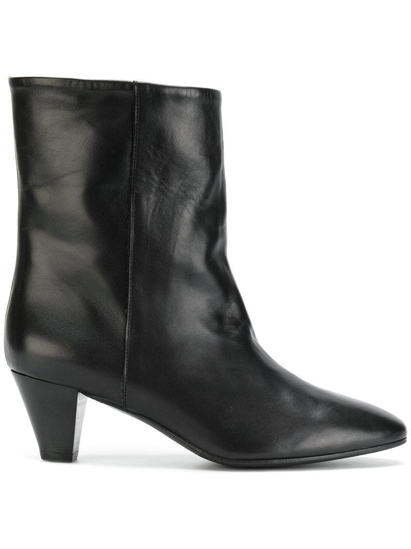 Clearance Websites Manchester Sale Online MARC ELLIS Heeled leather boots Manchester Great Sale Online Pick A Best Online AUjlNlu