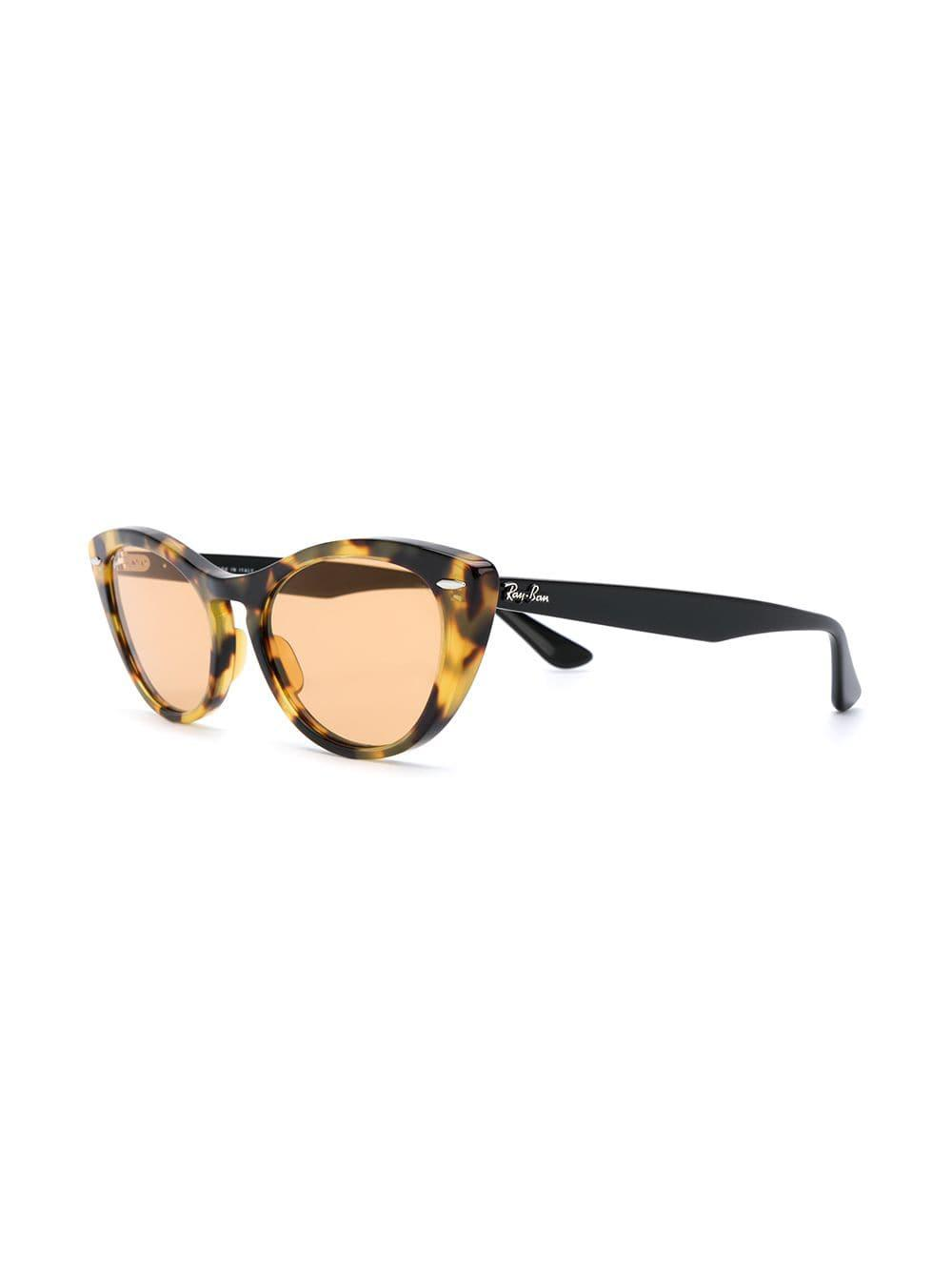 1f35c108722 Ray-Ban Cat Eye Sunglasses in Brown - Lyst