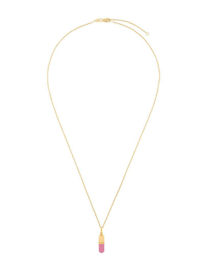 Crab Claw pendant necklace - Metallic True Rocks hqFaR