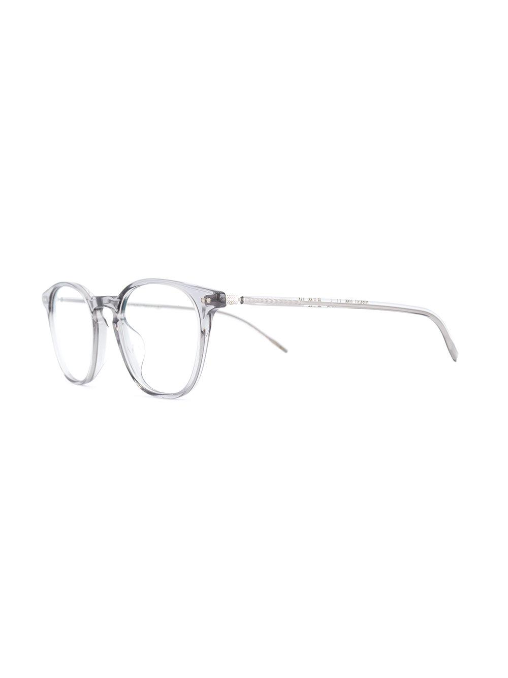 e600e82c5a7 Oliver Peoples Hanks Round Frame Glasses in Metallic - Lyst